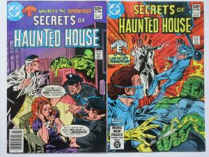 Secrets of Haunted House (DC 1981) #34 + 35 VF Horror starring Mister E!