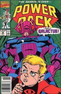 Marvel POWER PACK (1984 Series) #58 VF/NM