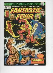 FANTASTIC FOUR #163, VG/FN, Gaard, Thing, 1961 1975, more FF in store