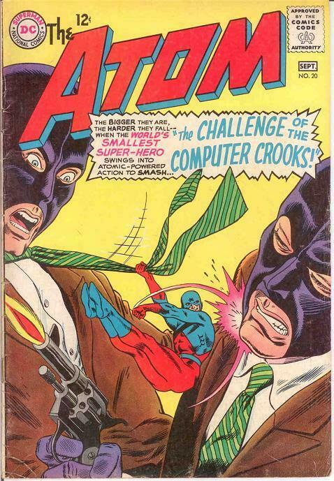 ATOM 20 VG  September 1965 COMICS BOOK