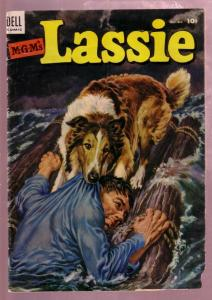 M-G-M'S LASSIE #13 1953-COLLIE DOG HERO ADVENTURE MOVIE G