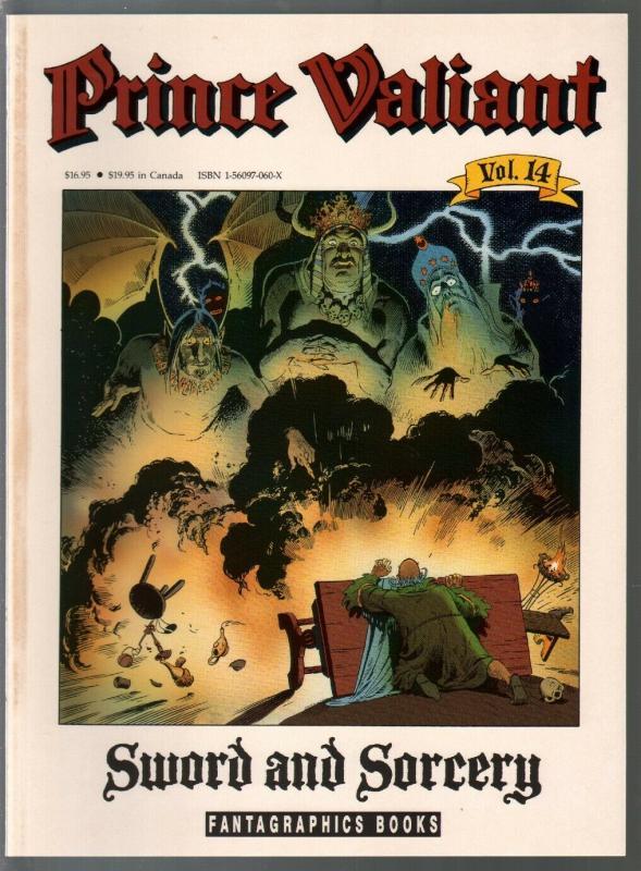 Prince Valiant #14 1990-Fantagraphics-color reprint-Hal Foster-Sword & Sorcery-V