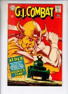 G.I. Combat #130 (Jul-68) VF High-Grade The Haunted Tank