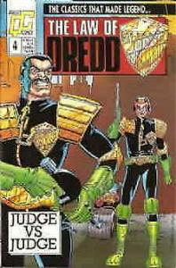 Law of Dredd, The #4 VF; Fleetway Quality   save on shipping - details inside
