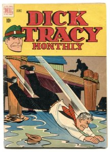 Dick Tracy #6 1948- Dell comics- Chester Gould VG-