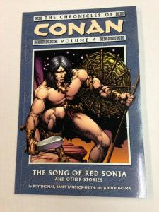 Chronicles of Conan Vol.4 Song of Red Sonja TPB