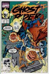 GHOST RIDER #17, NM+, Spider-man, HobGoblin, Blaze,1990, more Marvel in store