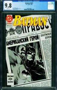 BATMAN #447 CGC 9.8 Brian Bolland-DC Comic Book 1994557006