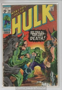 INCREDIBLE HULK (1962 MARVEL) #139 VG+ A02029