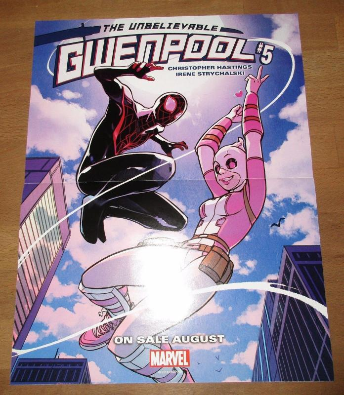 The Unbelievable Gwenpool #5 Reversible Folded Promo Poster (10 x 13) by Marvel