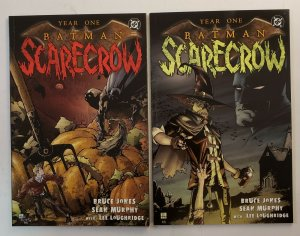BATMAN SCARECROW YEAR ONE #1-2 COMPLETE SET DC 2005  PRESTIGE FORMAT NM