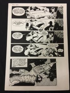 Captain Cosmos Page 23 Original Art Joe Stanton Nicola Cuti Space Opera