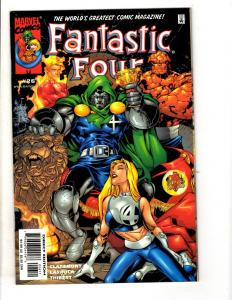 11 Fantastic Four Marvel Comics #26 27 28 29 30 31 32 33 34 35 36 Thing Doom MF2