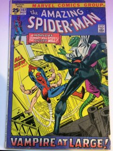 The Amazing Spider-Man #102  2nd App & Origin of Moribus The Living Vampire VG