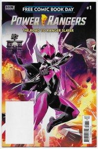 FCBD Power Rangers: Road To Ranger Slayer #1 Unstamped (Boom, 2020) NM