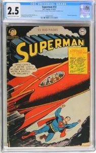Superman #72 (1951) CGC Graded 2.5