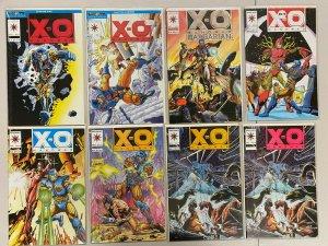 X-O Manowar Valiant Comic Lot #7-52 39 Diff Books 8.0 VF (1992-1995)