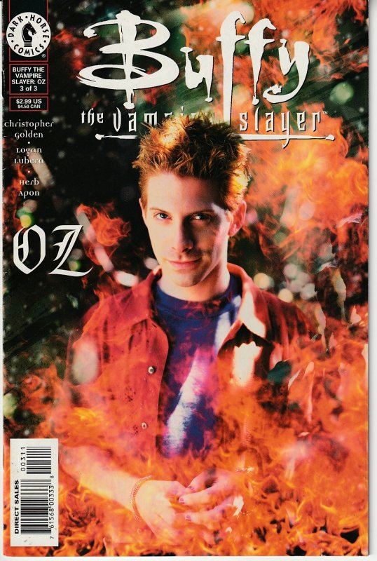 Buffy The Vampire Slayer – OZ # 1,2,3  The Teen Werewolf in his own series !