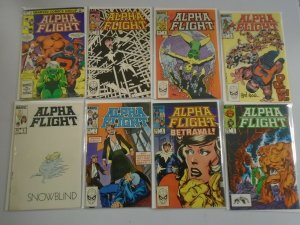 Alpha Flight lot 49 different from #2-50 all Direct 6.0 FN (1983-87 1st Series)