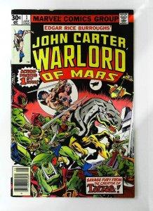 John Carter: Warlord of Mars (1977 series) #1, Fine- (Actual scan)