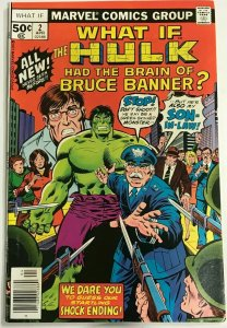 WHAT IF#2 VF/NM 1977 MARVEL BRONZE AGE COMICS