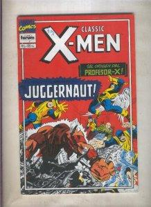 Classic X Men volumen 2 numero 06: El triunfo de Magneto (numerado 1 en trasera)