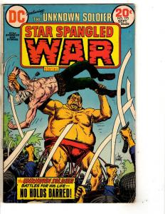 4 DC Comics Star Spangled War Stories 173 170 + Our Fighting Forces 160 143 J290
