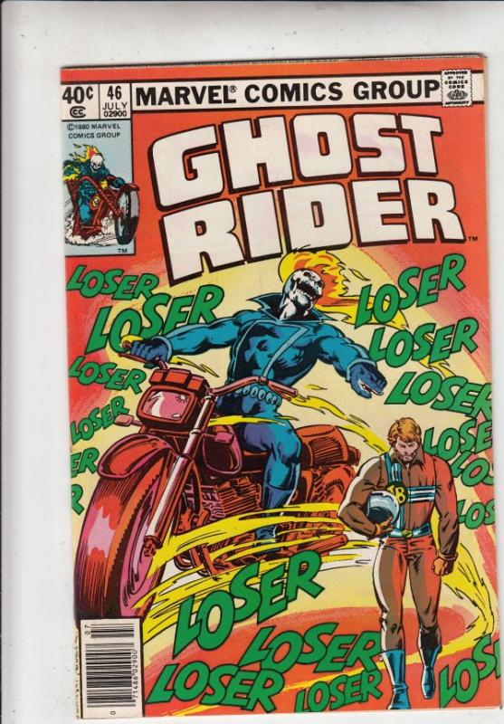 Ghost Rider, The #46 (Jul-80) NM/NM- High-Grade Ghost Rider