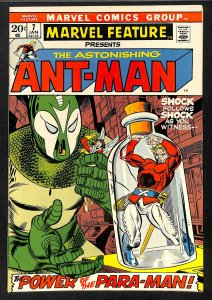 Marvel Feature #7 FN/VF 7.0 Ant-Man!