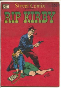Rip Kirby #1 1973-Street Comix-Alex Raymond newspaper comic strip art-VG/FN