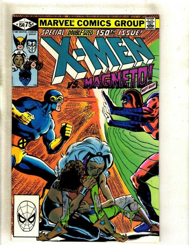 Uncanny X-Men # 150 NM Marvel Comic Book Wolverine Storm Hulk Angel Cyclops HJ9