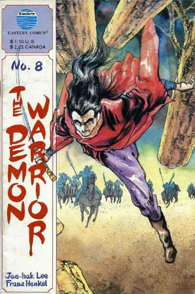 Demon Warrior, The #8 VF/NM; Eastern | save on shipping - details inside