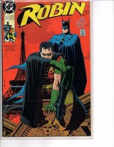 DC Comics (1991) Robin #1 Bolland Dixon Lyle Tim Drake Robin w/Poster