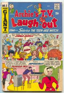 Archie's TV Laugh Out #2 1970- Archies cover- Sabrina-  FAIR