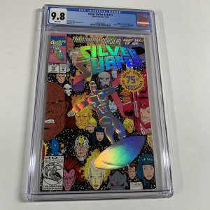 Silver Surfer Volume Vol V 3 Issue 75 Cgc 9.8 White Pages Marvel