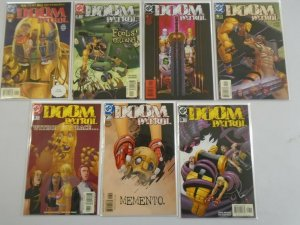 Doom Patrol near set #1-22 missing #3 8.0 VF (2001 3rd Series)