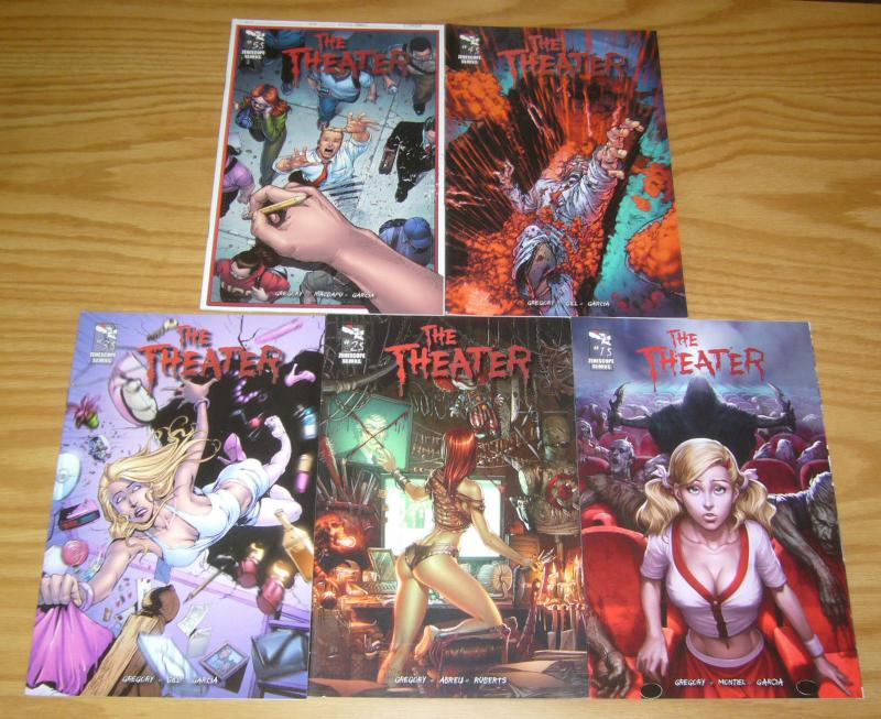 the Theater #1-5 VF/NM complete series - zenescope comics - raven gregory 2 3 4