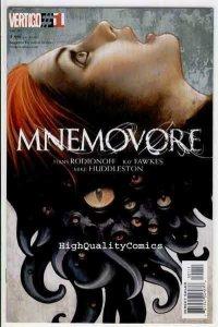 MNEMOVORE #1, NM, Vertigo, Mike Huddleston, 2005, more Vertigo in store
