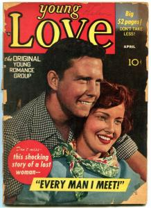 Young Love #8 1950- Golden Age Romance- Simon & Kirby G-