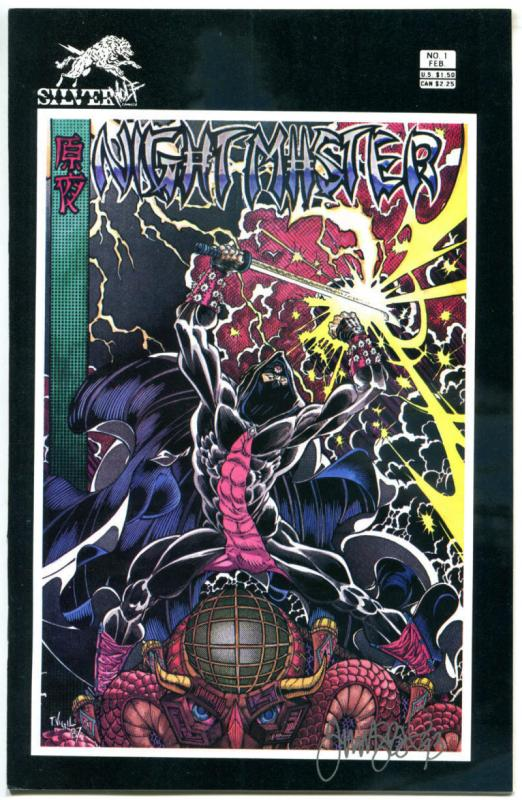 NIGHTMASTER #1, VF/NM, Signed by Tim Vigil, SilverWolf, 1987, more in our store