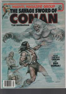 Savage Sword of Conan #78