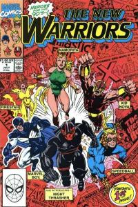 New Warriors (1990 series) #1, VF+ (Stock photo)