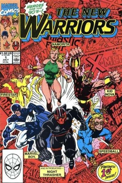 New Warriors (1990 series) #1, VF (Stock photo)