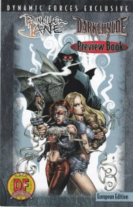 Painkiller jane Darkchylde Preview Book Dynamic Forces European Edition Holofoil