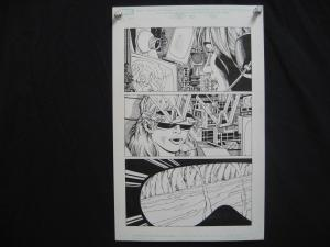MARSHALL ROGERS-SPITFIRE-ORIGINAL ART-PG5-MARVEL COMICS FN
