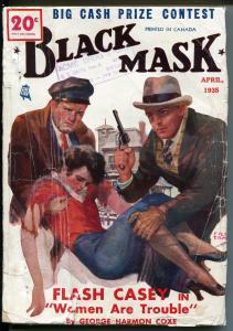Black Mask-4/1935-hard boiled detective pulp-Flash Casey-Fred Craft-VG MINUS