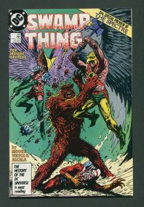 Swamp Thing #58  (2nd Series) 9.0 VFN/NM  March 1987