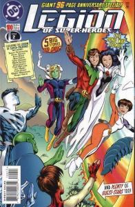 LEGION OF SUPERHEROES (1989 DC) #100 NM- A90513
