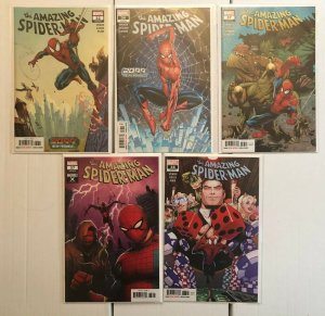 Amazing Spiderman 32 36 37 38 w Variants 5 Book Lot