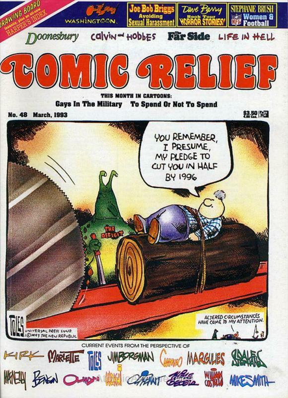 Comic Relief (magazine) #48 VF/NM; Page One | save on shipping - details inside